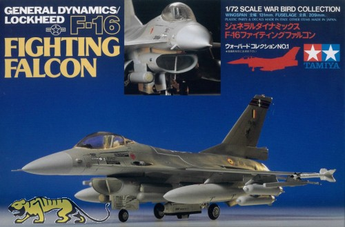 General Dynamics / Lockheed F-16 Fighting Falcon - 1:72