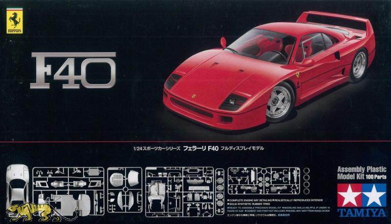 Ferrari F40 1 24 Tamiya 24295 Axels Modellbau Shop
