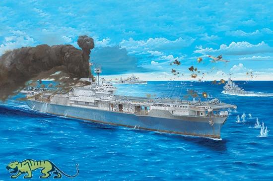 uss yorktown c5 - aircraft carrier  200 trumpeter
