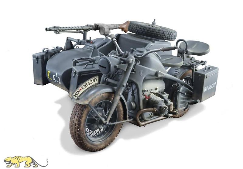 Zubehör R75 Deutsche 1:35 kit NEU Masterbox German Motorcyclists Motorradfahrer