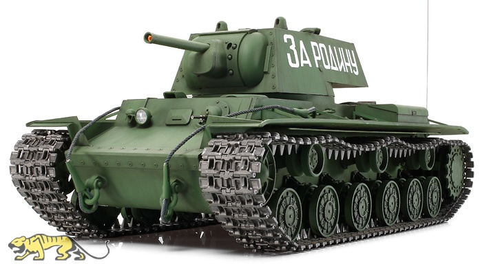 1 16 russian heavy tank kv 1 model 1940 rc full option kit tamiya 56028 axels modellbau shop. Black Bedroom Furniture Sets. Home Design Ideas