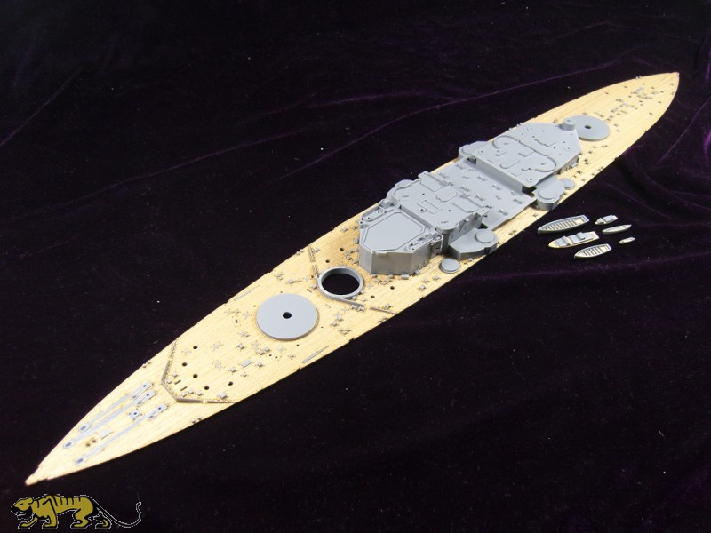 Wooden Deck For 1 350 Hms King George V Tamiya 78010