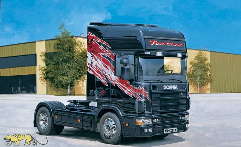scania 164l topclass 580 cv 1 24 italeri it3819 axels. Black Bedroom Furniture Sets. Home Design Ideas