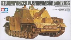 Sturmpanzer IV Brummbär Sd.Kfz. 166 - 1:35