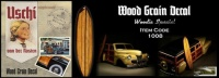 Holzstruktur - Decals / Abziebilder - Woodie Edition
