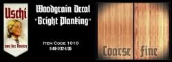 Holzstruktur - Decals / Abziebilder -  Bohlen / Dielen - Hell