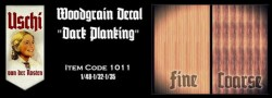 Woodgrain Decal - Dark Planking