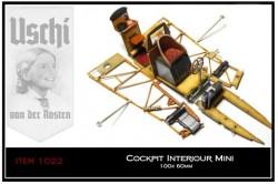 Holzstruktur - Decals / Abziebilder -  Flugzeug Innenräume / Cockpit - Mini