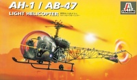 Bell AH-1 / AB-47 Light Helicopter - 1:72