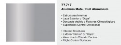 Metal Color 77717 - Matt Aluminium