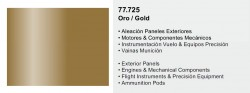 Metal Color 77725 - Gold