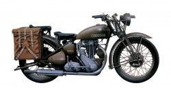 Triumph 3WH WWII Motorcycle - 1/9