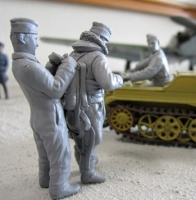 Sd.Kfz.2 Luftwaffe Figuren Set