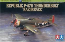 Republic P-47D Thunderbolt - Razorback - 1:72