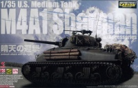 US Medium Tank M4A1 Sherman with Accessories