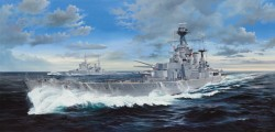 Royal Navy Battlecruiser HMS Hood - 1:200