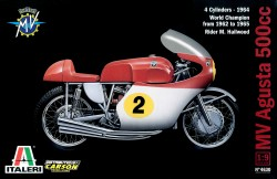 MV AGUSTA 500 cc. 4 CYLINDERS - 1964 - 1/9