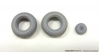 Weighted Tires for North American P-51D Mustang - Zoukei Mura (SWS04) - 1/32