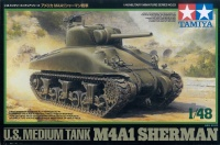 U.S. Medium Tank M4A1 Sherman - 1/48