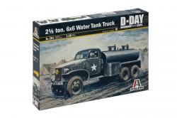 US 2,5t 6x6 Water Tank Truck - 1:35