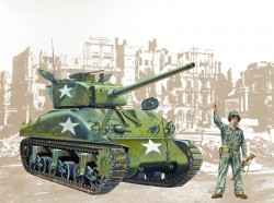US M4A1 Sherman - 1/35