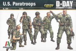 US Paratroopers - 6 Figuren - 1:35