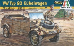 VW Typ 82 Kübelwagen - 1:35