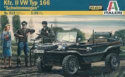 Kfz. II VW Typ 166 - Schwimmwagen-  1:35