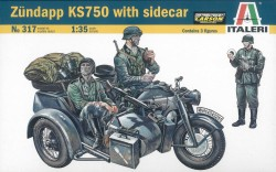 Zündapp KS750 with Sidecar - 1/35