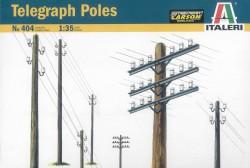 Telegraph Poles - Telegrafenmasten - 1:35