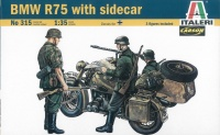 BMW R75 with Sidecar - 1/35