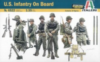 US Infantry On Board - 1:35