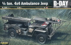 US 1/4 ton. 4x4 Ambulance Jeep - 1:35