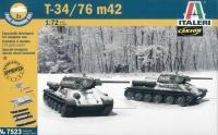 T-34/76 m42 - Set - 2 Modelle - 1:72