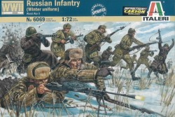 Russische Infanterie - Winter Uniform - 1:72