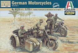 German Motorcycles WWII - 1/72