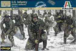 WWII Infanterie in Winteruniform - 1:72