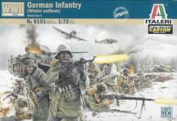 Figurenset Deutsche Infanterie in Winteruniform WWII - 1:72