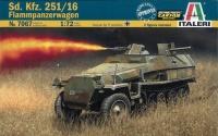 Sd.Kfz. 251/16 Flammpanzerwagen - 1:72