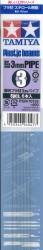 Plastikprofil - Klar / Transparent - Rohr - 3mm - 40cm - 6 Stück