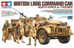 British LRDG Command Car - North Africa - 1:35
