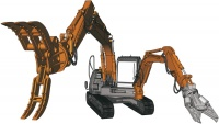 Hitachi Double Arm Working Machine ASTACO NEO - Raupenbagger