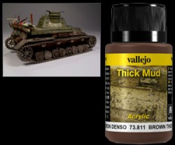 Weathering Effects 73811 - Brown Thick Mud