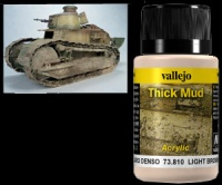Weathering Effects 73810 - Light Brown Thick Mud / Hellbrauner Dicker Schlamm