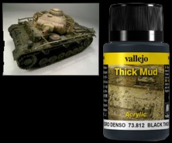 Weathering Effects 73812 - Black Thick Mud / Schwarzer Dicker Schlamm