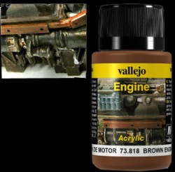 Weathering Effects 73818 - Brown Engine Soot