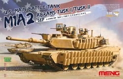 US Main Battle Tank M1A2 Abrams Tusk I / Tusk II SEP - 1:35