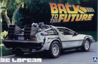 Back to the Future Delorean - Zurück in die Zukunft - 1:24