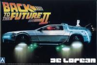 Back to the Future II Delorean - Zurück in die Zukunft Teil 2 - 1:24