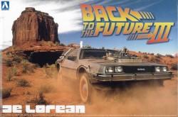 Back to the Future III Delorean - Zurück in die Zukunft Teil 3 - 1:24